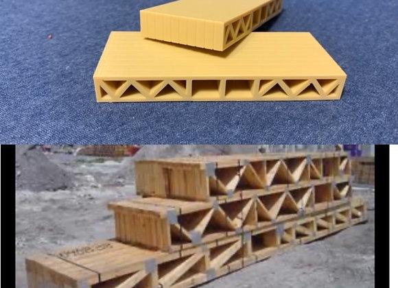 8 ft. Stack of Floor Joists (set of 2)
