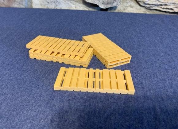 Long pallets (set of 10) 3 7/8 in. x 1 9/16 in.
