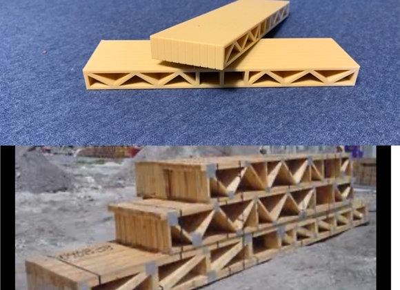 12 ft. Stack of Floor Joists (set of 2)