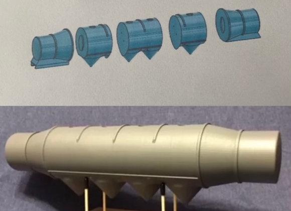 1/16 scale Bulk Tanker