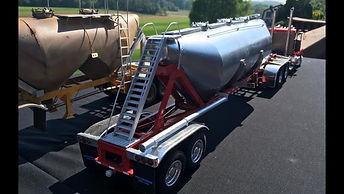 Trailers built by Barry Kuhn Jr_
