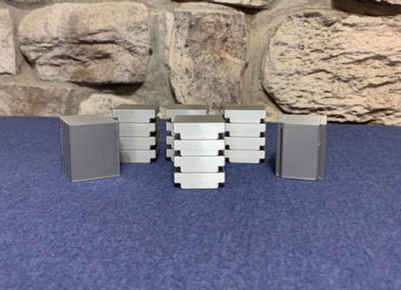 """Aluminum Ingots"" (set of 6 stacked 4 high)"