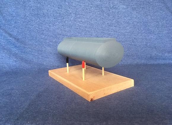 9 inch Pup Fuel Tank