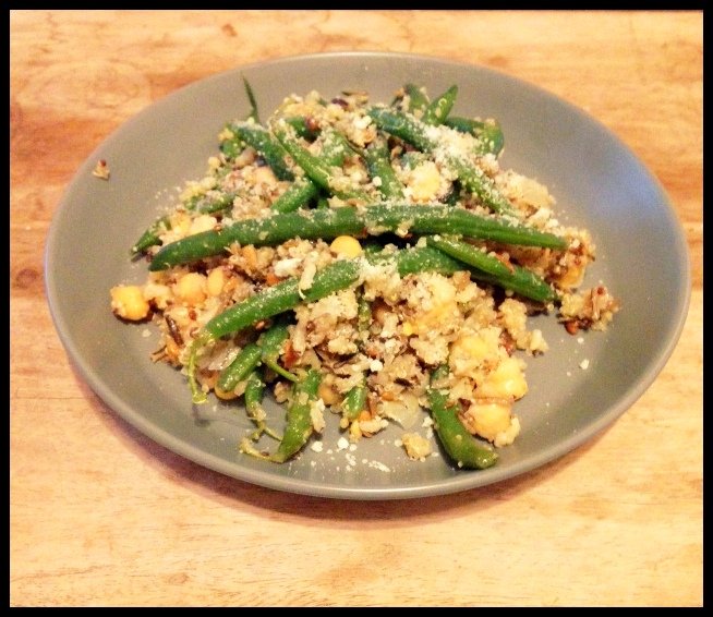 Day 22: Green Bean Quinoa Salad
