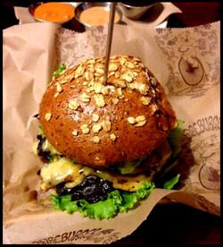 Day 29: Portobello Burger