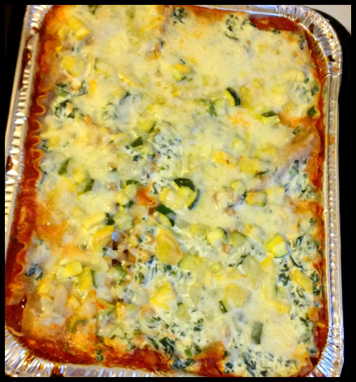Day 6: Veggie Lasagna