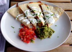 Day 27: Veggie Quesadilla