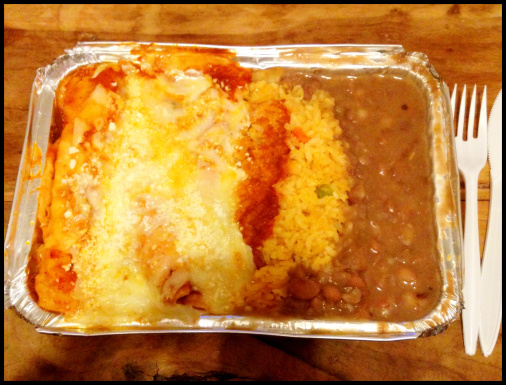 Day 13: Cheese Enchiladas