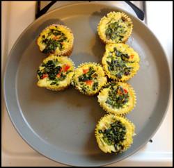 Day 4: Spinach Quiche