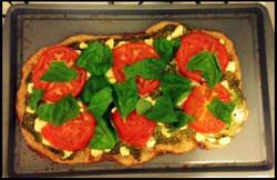 Day 24: Tomato Basil Pizza
