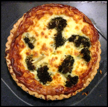 Day 15: Broccoli Quiche
