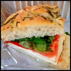Day 28: Caprese Sandwich