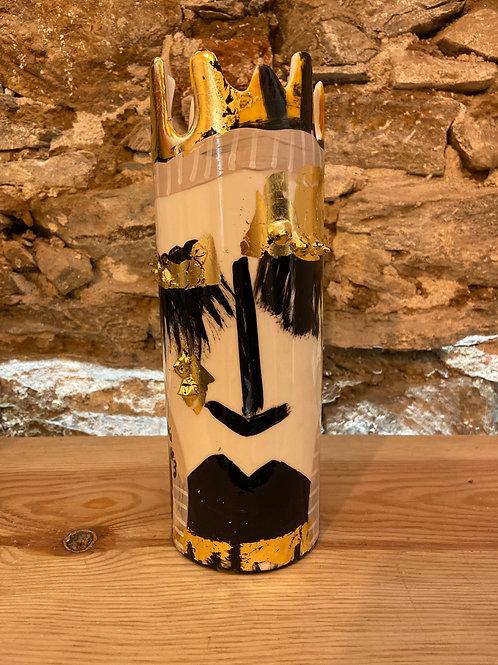 "Vase "" Love"" Isabelle CARBUCCIA"