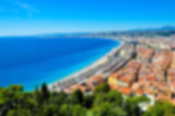 View of Nice from the hill