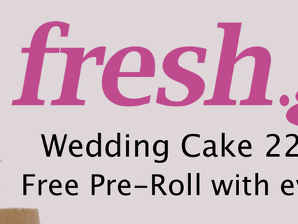 New Flower in Stock! Wedding Cake 22%, Mango Puff 21%, Free .5g Pre-Roll with every purchase!*