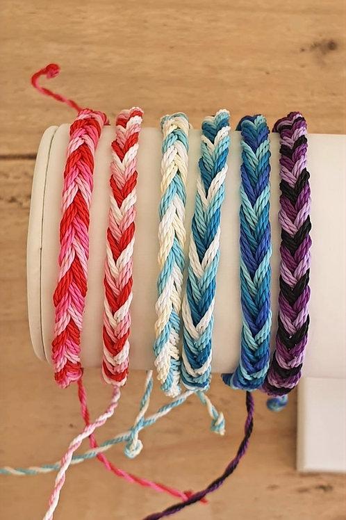 Hand Woven Surf Bracelet