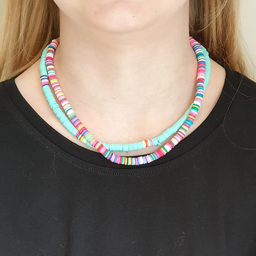 Summer Necklace made from Recycled Plastic