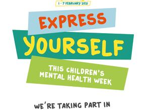 Children's Mental Health Week 1st - 7th February 2021