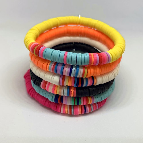 Friendship Bracelet made from Recycled Plastic