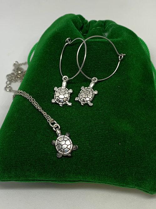 Turtle Jewellery Gift Set