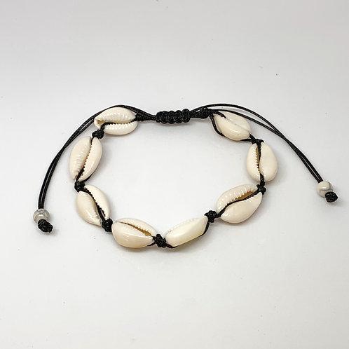 Shell Bracelet Cream or Black