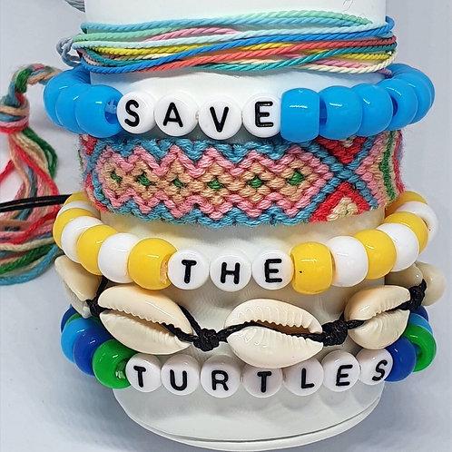 Turtle Bracelet Stack