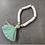 Teen Summer Bracelet with Tassel in Turquoise