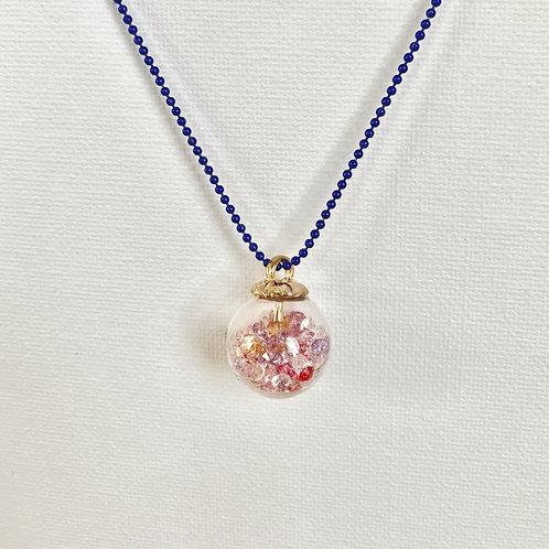 Glitter Globe Necklace