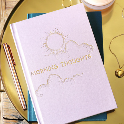 Pink Morning & Night Notebook