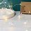 Thumbnail: 30 Silver Wire String Lights  Battery Powered LED