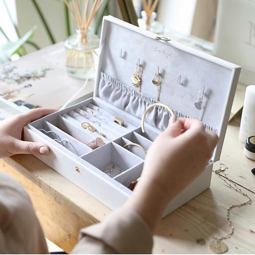 Large White Jewellery Box