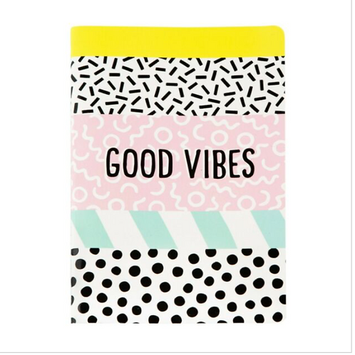 """Sass & Belle A5 """"Good Vibes"""" Notebook"""