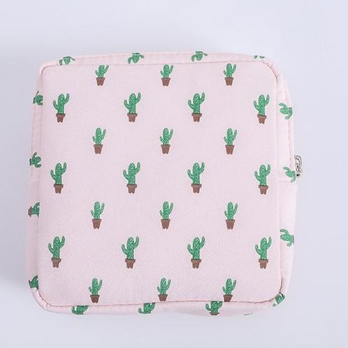 Personal Care Bag Cactus Print