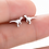 Thumbnail: Dinosaur Stud Earrings