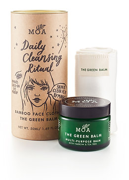 Organic Hot Cloth Daily Cleansing Ritual by MOA