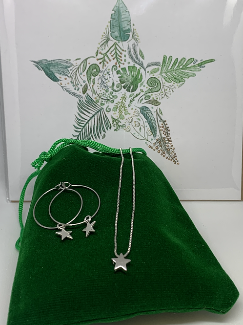Moon & Star Gift Set including card