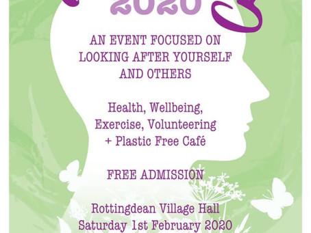 Rottingdean Wellbeing Fair - Sat 1 February 2020 (1:30 - 4pm)