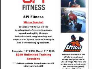 2018 Winter Training Special