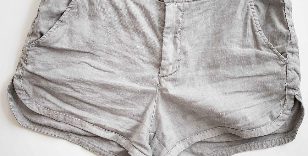 Grey Cotton Short
