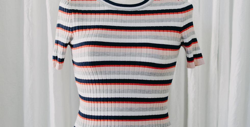 Stripe Sweater Tee