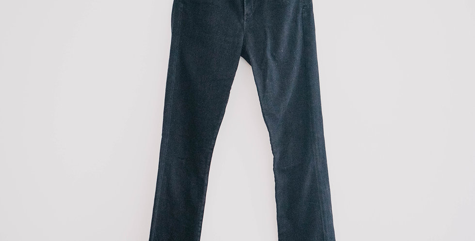 Citizens of Humanity / Black Straight Leg Jean