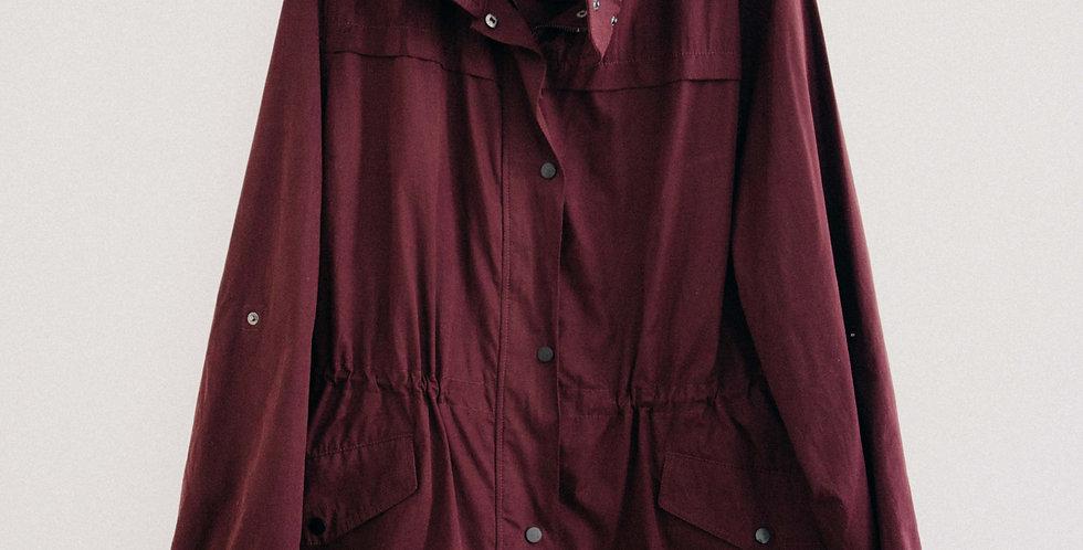Burgundy Cargo Jacket