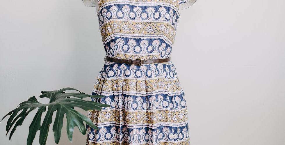 Anthropologie Patterned Dress