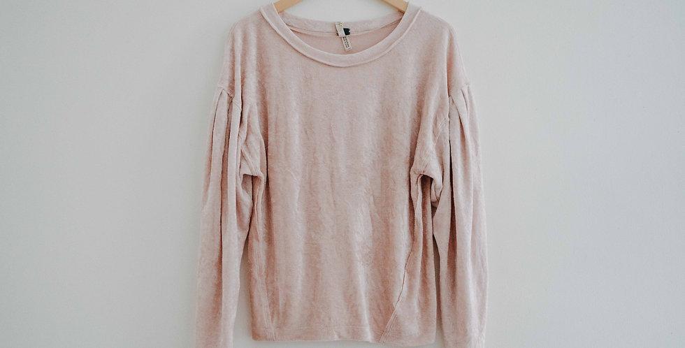 Free People / Pink Plush Sweater