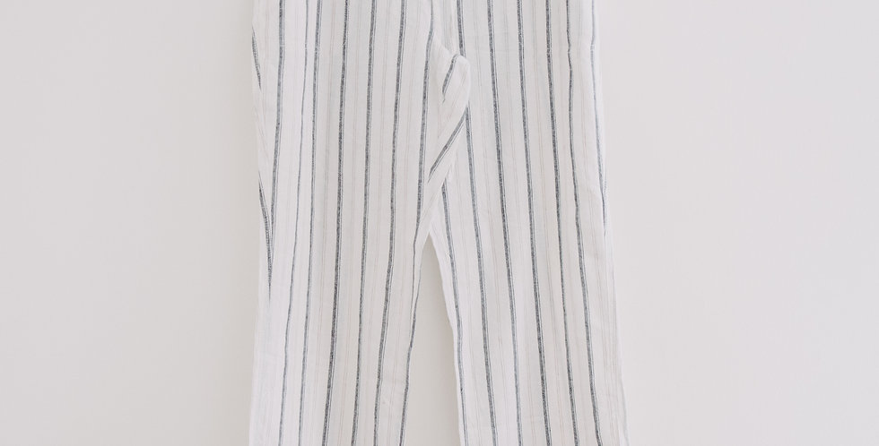 Linen Stripe Pants
