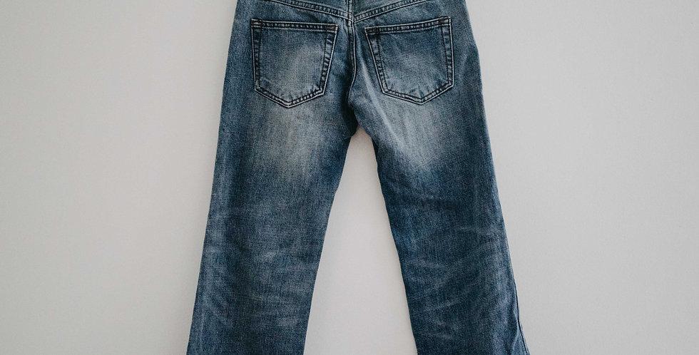 Free People / Raw Hem Crop Flare Jean