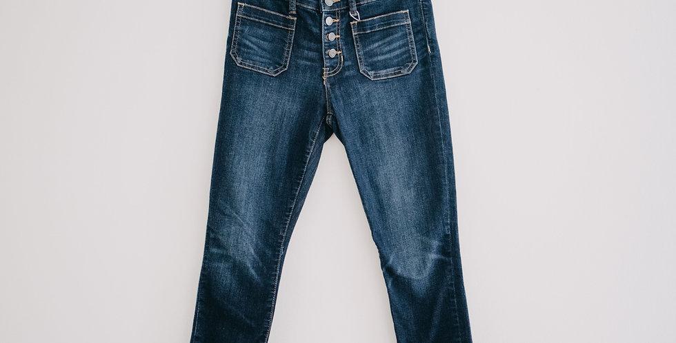 Gap / Sailor Pocket Button Fly Skinny Jeans