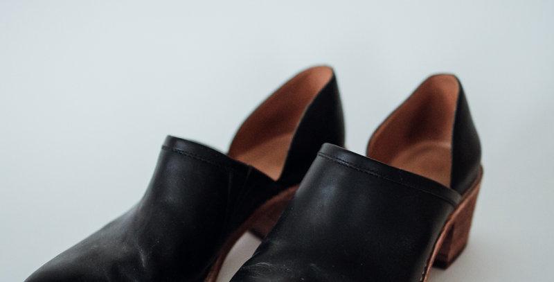 Black Brady Low Boot