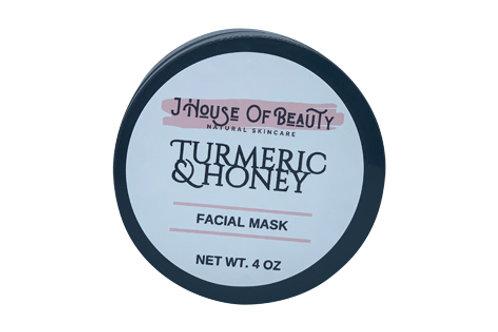 Turmeric and Honey Facial Mask
