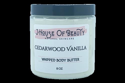 Cedarwood Vanilla Body Butter